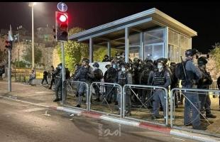 محدث - القدس: 6 إصابات خلال المواجهات مع قوات الاحتلال في منطقة باب العامود