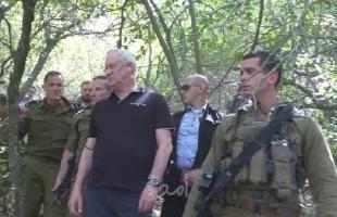 """غانتس: """"إن قام حزب الله باستفزازنا سيتكبد أضرارا جسيمة"""""""
