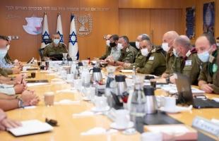رئيس الأركان الإسرائيلي يوعز باتخاذ سلسة خطوات والاستعداد لردود فعل محتملة