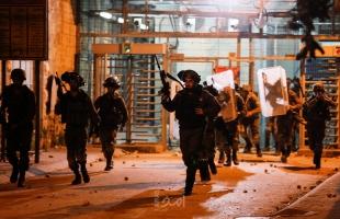 اصابات في مواجهات مع قوات الاحتلال وسط الخليل