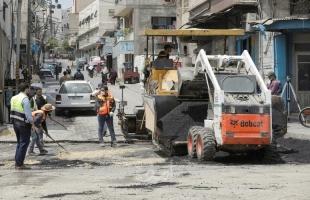 بلدية غزة تنجز أعمال صيانة لخط الصرف الصحي الناقل جنوب المدينة