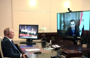 الكرملين يكشف تفاصيل مكالمة الأسد مع بوتين