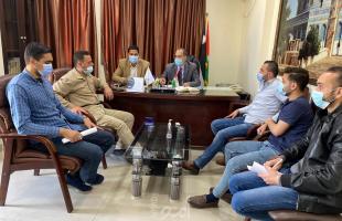 نيابة حماس تعقد اجتماعات بغزة وشرطة الوسطى تؤكد علي تعزيز التعاون الاجرائي