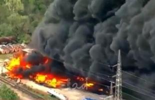 حريق في مصنع للكيماويات في ولاية ميزوري الأمريكية
