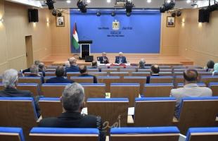 الرئيس عباس يترأس اجتماعًا طارئًا لمتابعة الوضع في الأرض الفلسطينية كافة