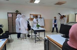 تأهيل فتيات نابلس ينفذ زيارة لقسم التصوير والشيخ خليفة ينظم يوم طبي لطلبته