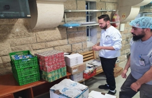 """القدس: """"التوفيق الخيرية""""  تقدم وجبات إفطار لجميع  اقسام ونزلاء مستشفى المطلع"""