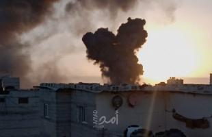سلسلة غارات إسرائيلية عنيفة ومتتالية علىقطاع غزة