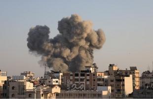 هدم برج الشروق عقب استهدافه بــ 11 صاروخ