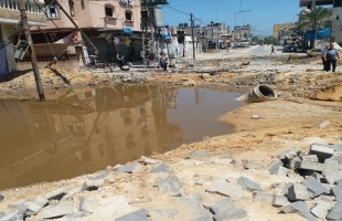 بلدية غزة تدين استهداف آلة الحرب الإسرائيلية لمصادر المياه لأنه ينذر بأزمة عطش كبيرة