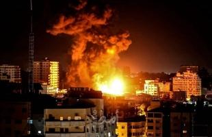 بالفيديو.. مجمل الاستهدافات التي شنتها طائرات الاحتلال على قطاع غزة
