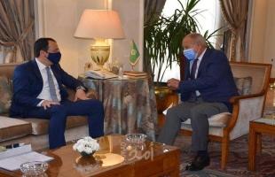 أبو الغيظ يطلع وزير خارجية قبرص على تطورات القضية الفلسطينية
