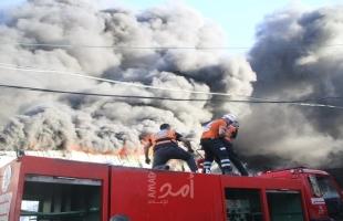 الدفاع المدني يتعامل مع 56 حادثًا بالضفة