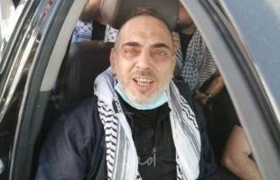 """سلطات الاحتلال تفرج عن الأسير """"خالد العناتي"""" من الخليل"""