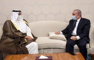اشتية يبحث مع مدير عام الصندوق العربي للإنماء سبل دعم المشاريع ذات الأولوية