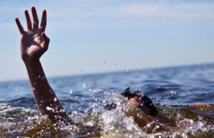 حالة غرق لامرأة في بحر خانيونس