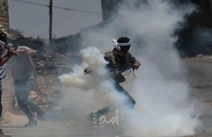 3 إصابات برصاص قواتالاحتلال خلال قمع مسيرة كفر قدوم الأسبوعية