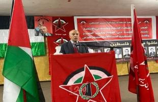 الديمقراطية تحيي اليوم الوطني لشهيدها في مخيم البص بلبنان