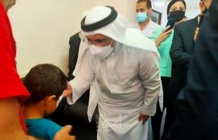"""وفد من البرلمان العربي يعود جرحى العدوان الإسرائيلي في مستشفى """"معهد ناصر"""" بمصر"""