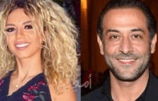 موقع يكشف تفاصيل علاقة عبد المنعم عمايري  بممثلة لبنانية