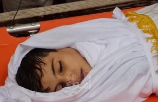 """غزة تودع الطفل """"عبيدة الدحدوح""""- صور"""