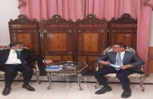 عبد الهادي يطلع سفير الصين على آخر مستجدات الأوضاع في فلسطين