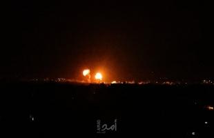 متابعة.. طائرات الاحتلال تقصف أهدافًا أمنية في قطاع غزة- فيديو