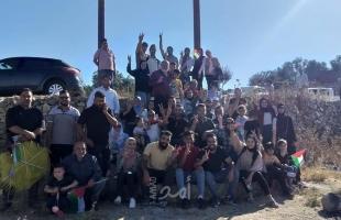 فعاليات شبابية تطوعية وثقافية وتوعوية متنوعة في قرى شمال غرب القدس