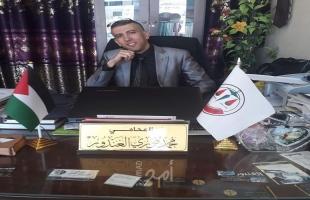 غزة: وفاة المحامي الغندور  إثر إطلاق النار عليه من قبل مجهولين