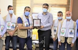 """صحة غزة تكرم الفريق الطبي من """"تجمع PAMA"""" في ختام مهام عملهم بالقطاع"""