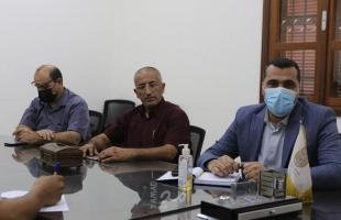 بلدية غزة تبحث مع شركة توزيع الكهرباء سبل التعاون
