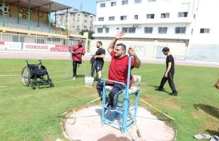 بلدية غزة تستضيف فريق منتخب رياضة البارالمبية لذوي الإعاقة