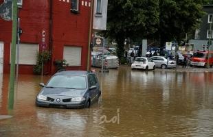 الشرطة الألمانية: (4) قتلى وفقدان 30 آخرين إثر فيضانات عارمة