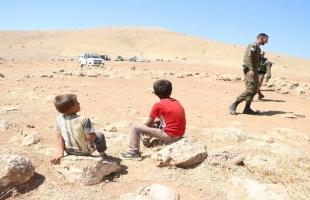 """جيش الاحتلال يهدم مساكن في """"حمصة الفوقا"""" بالأغوار الشمالية وبيت دجن بنابلس"""