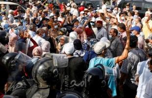 """""""النهضة"""" تعلن تعليق الاحتجاجات أمام البرلمان التونسي: تغليبا للمصلحة الوطنية!"""