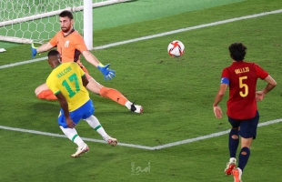 """""""البرازيل"""" يتوج بذهبية كرة القدم في أولمبياد طوكيو"""