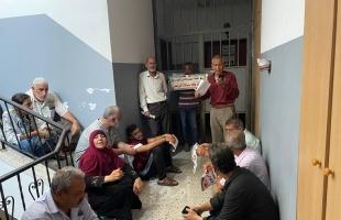 """""""أهالي شهداء 2014"""" يعتصمون أمام مكتب الهيئة القيادية لفتح في غزة- فيديو وصور"""