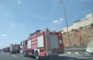 الدفاع المدني: طواقمنا تعاملت مع (38) حادثفي الضفة الغربية