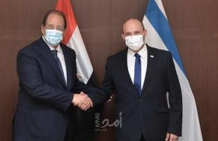 بينيت يلتقي عباس كامل..والسيسي يدعوه لزيارة مصر