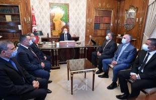 """الرئيس التونسي """"قيس سعيد"""" يعين قائدين جديدين للأمن والحرس الوطني"""