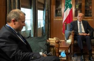 """رئيس """"التيار الوطني الحر"""" اللبناني يهدد بالاستقالة و""""بري"""" يرد بعنف"""