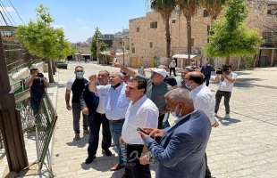 المشتركة تتوجه لليونسكو لفحص مخططات سلطات الاحتلال في الحرم الإبراهيمي