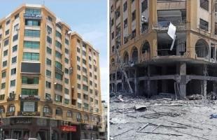 """غزة: أشغال حماس تقرر إزالة برج الجوهرة الذي قصف خلال """"عدوان مايو"""""""