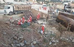"""لبنان: (4) قتلى في انفجار داخل معمل في """"البراجنة"""" جنوب بيروت- فيديو"""