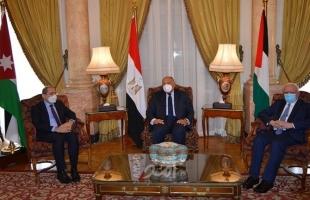 """لقاء فلسطيني مصري أردني قبل """"الوزاري العربي"""""""