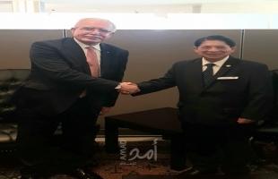 المالكي يطلع وزير خارجية نيكاراغوا على الجرائم الإسرائيلية ضد الشعب الفلسطيني