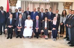 المالكي يلتقي بالسلك الدبلوماسي العربي المعتمد لدى جنوب أفريقيا