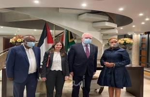 المالكي يبحث مع رئيس لجنة العلاقات الدولية الانتهاكات الإسرائيلية ضد الشعب الفلسطيني
