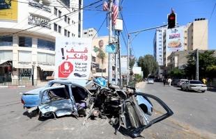 مرور غزة: 3 إصابات في (11) حـادث سير خلال 24 ساعة بالقطاع