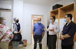 مديرة مكتب الأمم المتحدة لتنسيق الشئون الانسانية تزور برنامج غزة للصحة النفسية